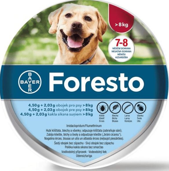 Soutěžíme o obojky Foresto pro vaše mazlíčky