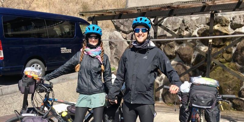 Zuzana a Michal Cabejskovi vyrazili na roční cyklolíbánky do Japonska (zdroj: manželé Cabejskovi)