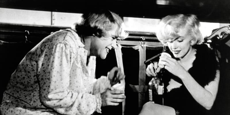 Marilyn Monroe excelovala ve filmu Někdo to rád horké.