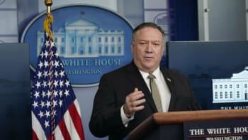 Americký ministr zahraničí Pompeo v pondělí zahájí cestu po Evropě. Navštíví i Česko