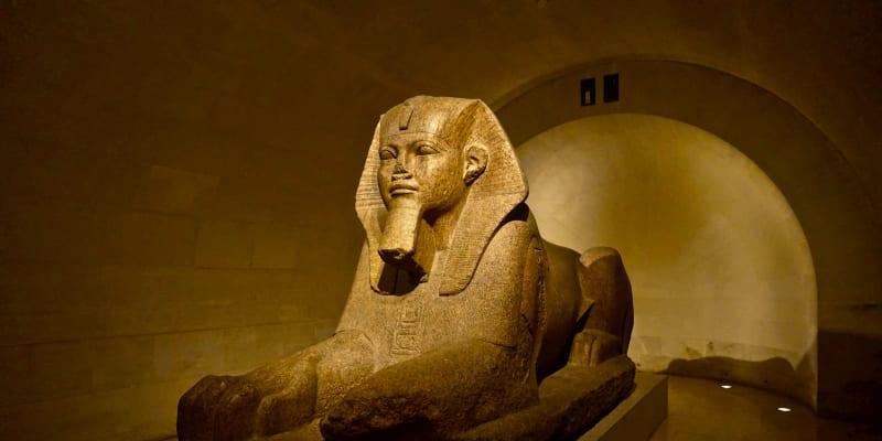 Egyptská expozice v Louvre