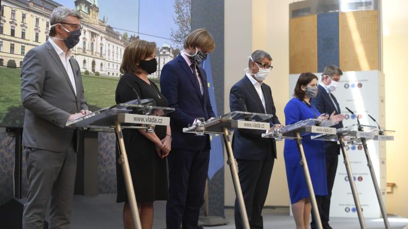 Vláda ČR. Foto: ČTK