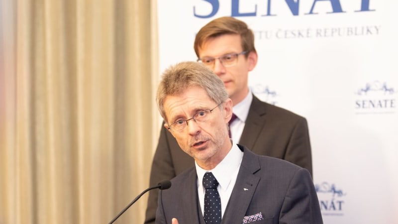 Předseda Senátu Miloš Vystrčil. Foto: Senát ČR
