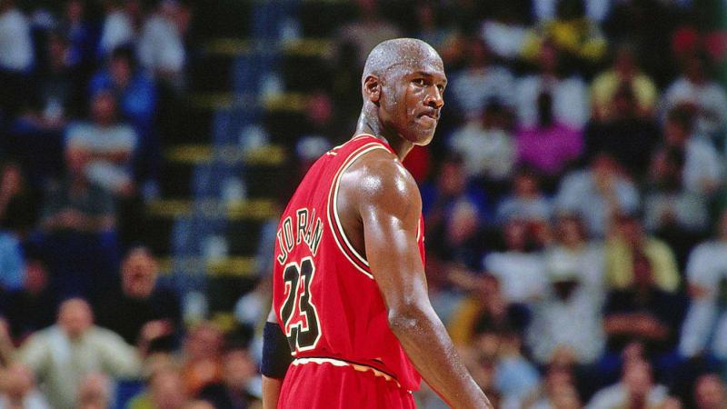 Michael Jordan v dokumentární sérii Poslední představení (The Last Dance)
