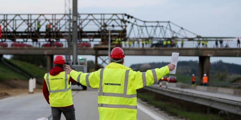Modernizace dálnice má být hotová na konci roku 2021.