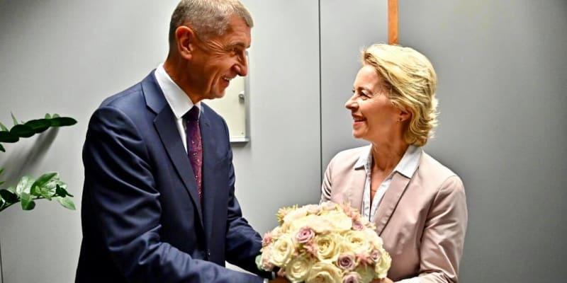 Babiš a nová šéfka Evropské komise Ursula von der Leyenová