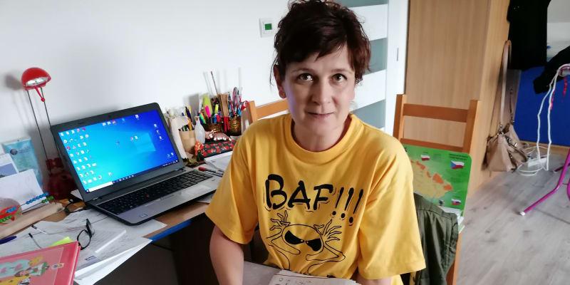 Učitelka Klaudie Lišková