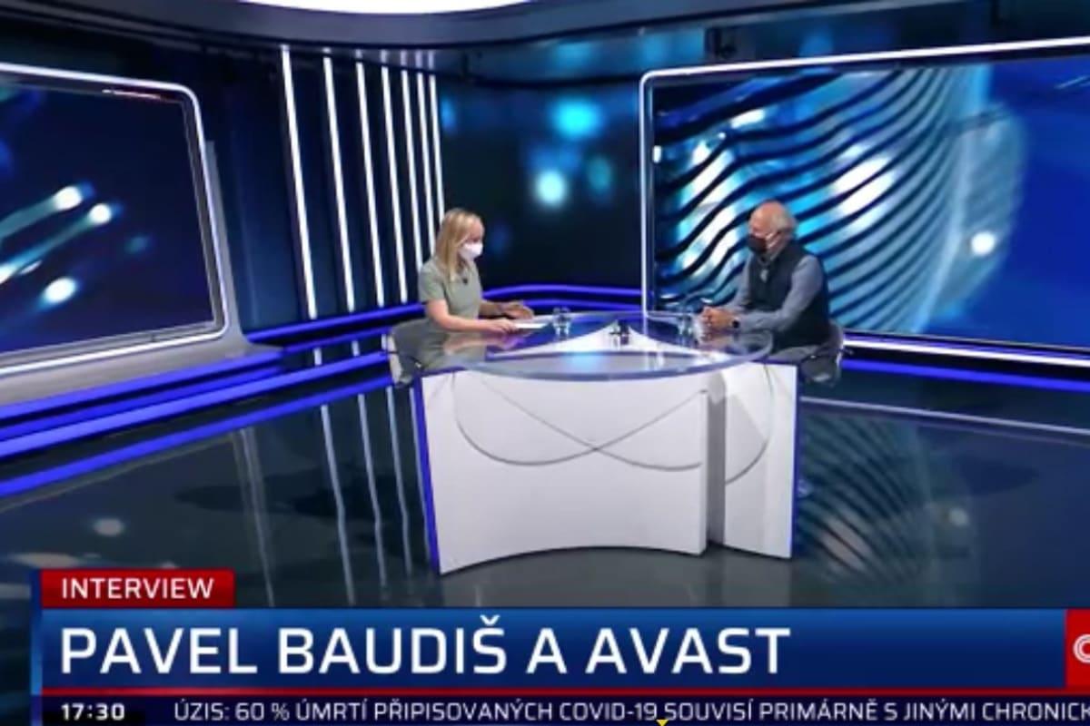 Největším problémem jsou dnes vyděračské maily, varuje zakladatel Avastu Baudiš