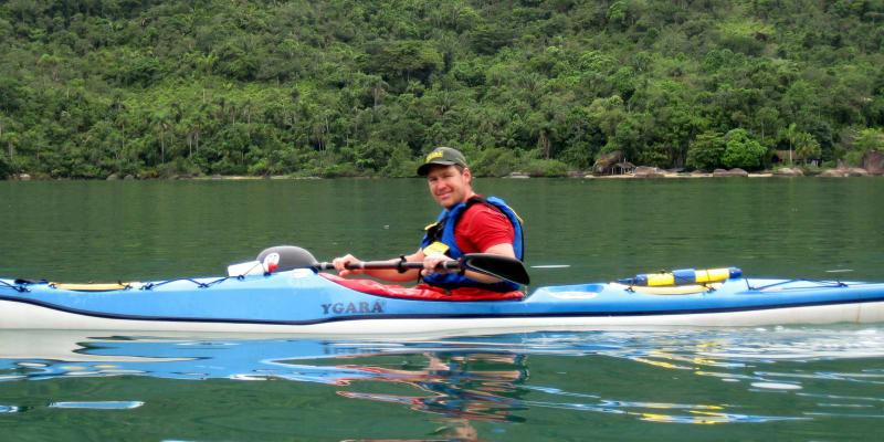 Vít Vaníček vede vodáckou školu (foto: Vít Vaníček)