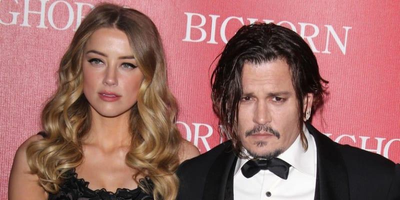 Johnny Depp a Amber Heard (2016)