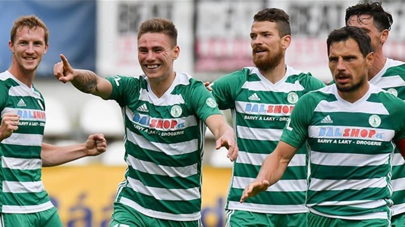 V české fotbalové lize padl rekord v počtu vstřelených gólů v jednom kole