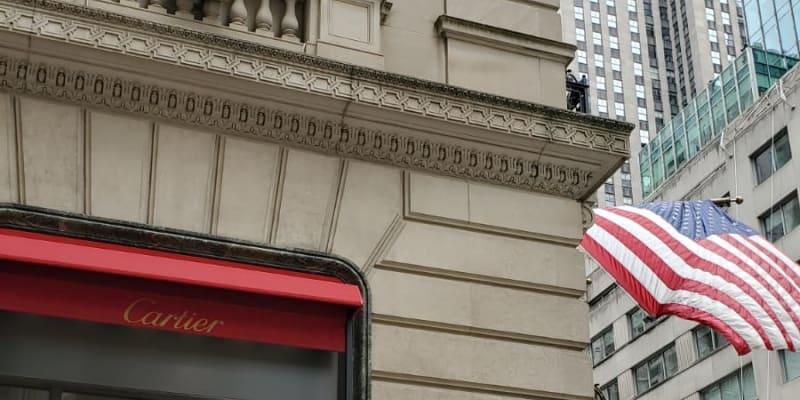 Obchody v New Yorku se pečlivě připravovaly na případné nepokoje a rabování