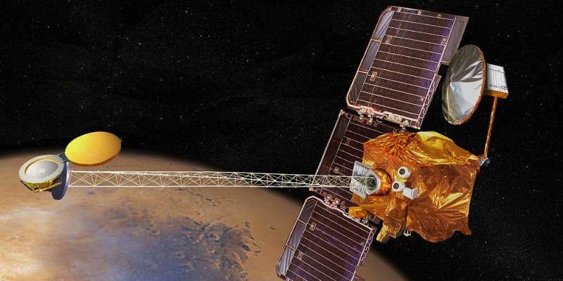 """Spojené arabské emiráty chystají vypustit k Marsu vlastní meziplanetární sondu. Projekt""""Hope Mars Mission"""" má být zahájen 14. července a byl připravována od roku 2014. Zdroj: NASA"""