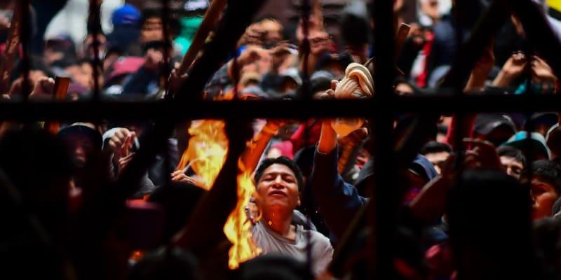 Ve věznici San Pedro jsou časté nepokoje
