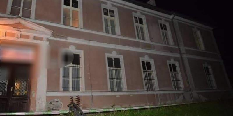 Rodinné drama se odehrálo v ubytovně Marína v Bánské Štiavnici.