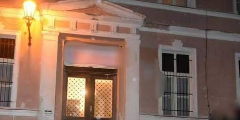 K vyhrocené situaci došlo v ubytovně Marína v Kutnohorské ulici.
