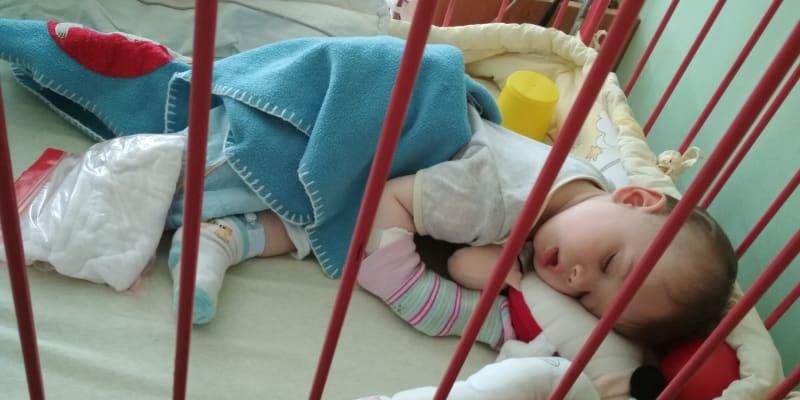 Osmnáctiměsíční František trpí komplikovanou hemofilií typu A (archiv rodiny)