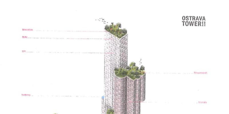 Postaví na něm obchodně administrativní centrum s hotelem a byty.
