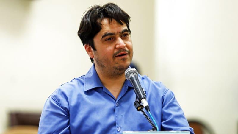 Trest smrti pro íránského novináře. Měl jednat proti národní bezpečnosti