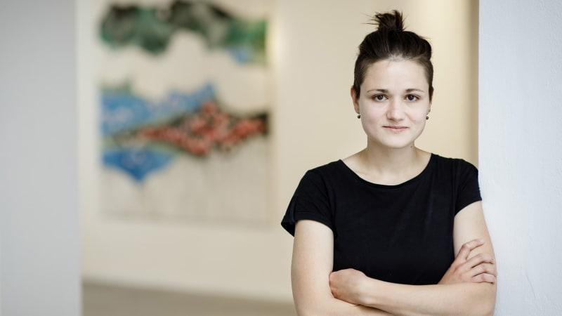 Božská komedie: Radka Bodzewicz vystavuje obrazy, které maluje ve virtuální realitě