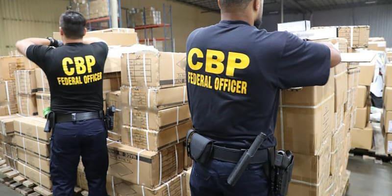 Zadržená zásilka z Číny (Zdroj: CBP/Twitter)