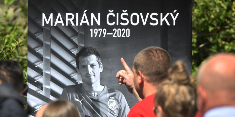 Poslední rozloučení s Mariánem Čišovským