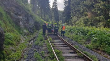 Svědek srážky vlaků: Nezažil jsem nic podobného a doufám, že už ani nezažiju