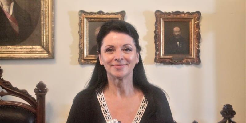 Místostarostka pro kulturu hlavního města ostrova Korfu Chrysoule Temprouová.