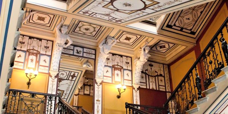 Interiér paláce Achillion