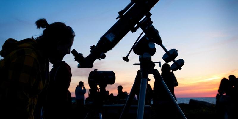 Astronomické jevy jsou u lidí velmi populární.