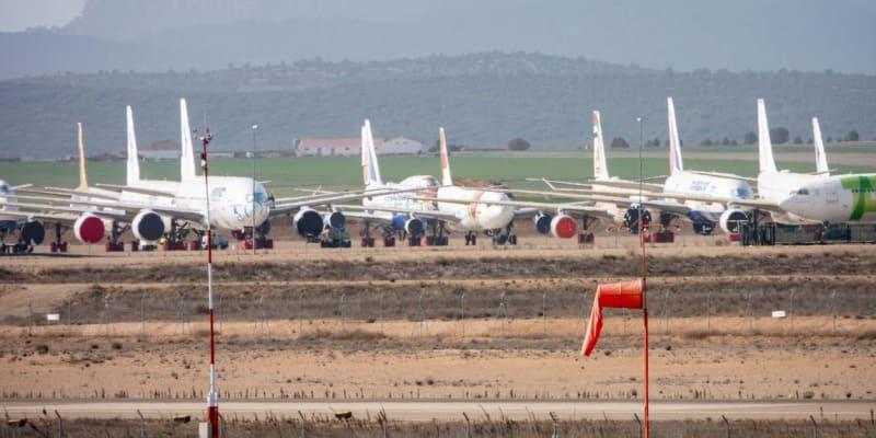 Letiště v Teruelu leží 270 kilometrů východně od španělské metropole Madridu na náhorní plošině 905 metrů nad mořem.