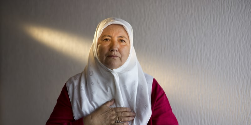 Fazila Efendičová při masakru přišla o jediného syna a manžela.
