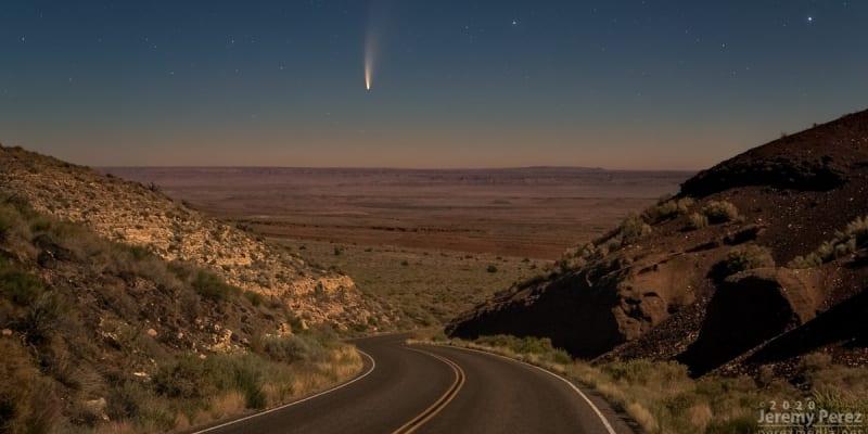Snímek z národního parku Wupatki v Arizoně