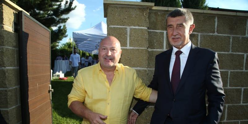 Oslava šedesátých narozenin Michala Davida