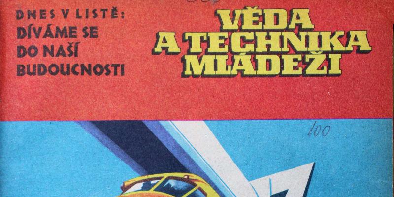 Časopis VTM z roku 1960, vize Prahy na sklonku sedmdesátých let