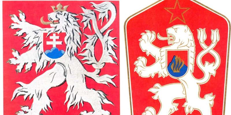 V červenci 1960 údajně v Československu zvítězil socialismus, republika dostala název socialistická  a výrazně se změnil i státní znak