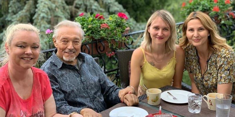 Dominika Gottová se svým otcem Karlem