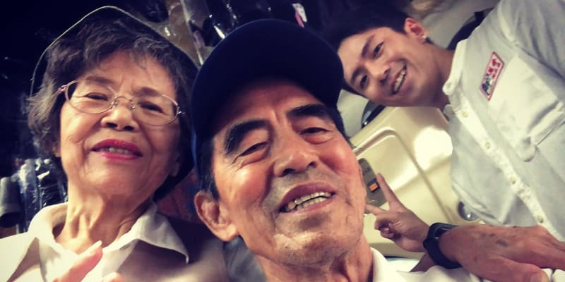 Vnuk Reef snímky lidem neúmyslně připomíná , aby trávili více času se svými prarodiči.