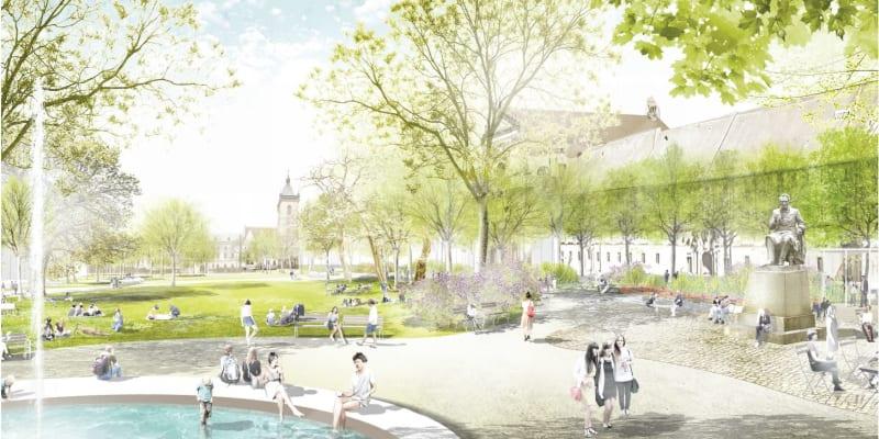Takto by mělo Karlovo náměstí vypadat v budoucnu.