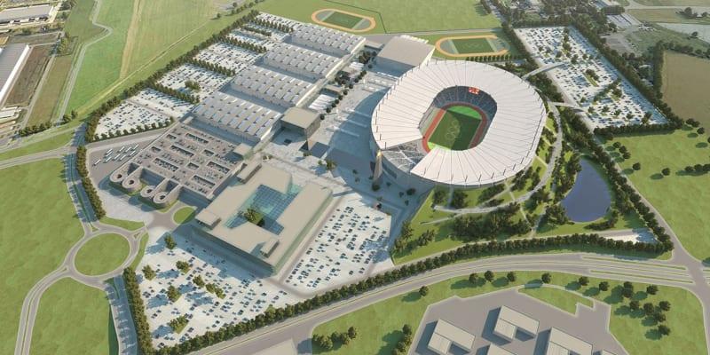 Olympijský komplex měl vzniknout v Letňanech.