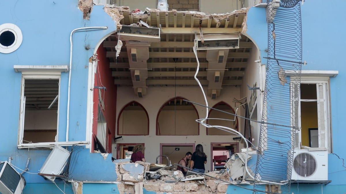 Je to největší katastrofa v historii Libanonu, popsala z Bejrútu reportérka CNN