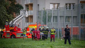 Svědkyně požáru v Bohumíně: Lidé křičeli, ať neskáčou. Ale oni už hořeli