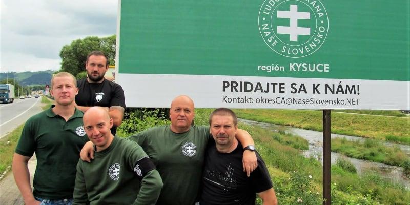 Nábor nových členů ĽSNS na Kysucách