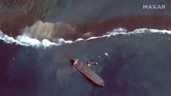 Další únik ropy do moře u Mauricia zřejmě nehrozí. Ostrov chce vymáhat škody po Japoncích
