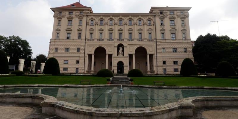 Černínský palác, sídlo českého ministerstva zahraničních věcí