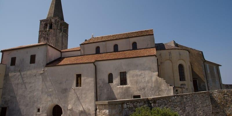 Celkový pohled na baziliku sv. Eufrasia