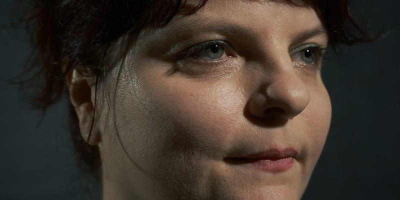 Maďarská spisovatelka Gabi Csutak