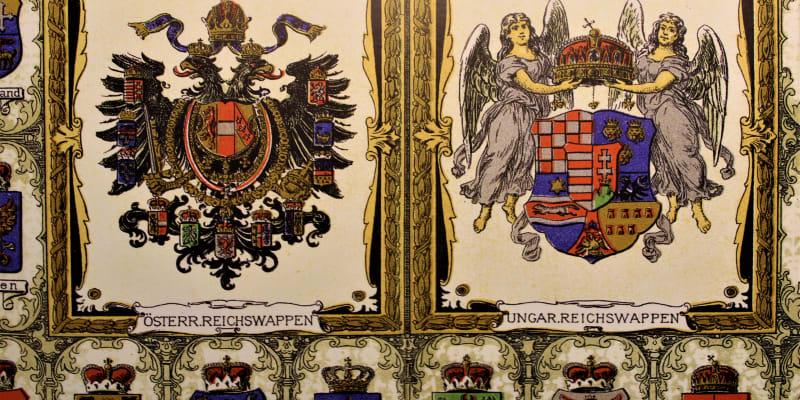 Detail z erbu Rakouska-Uherska