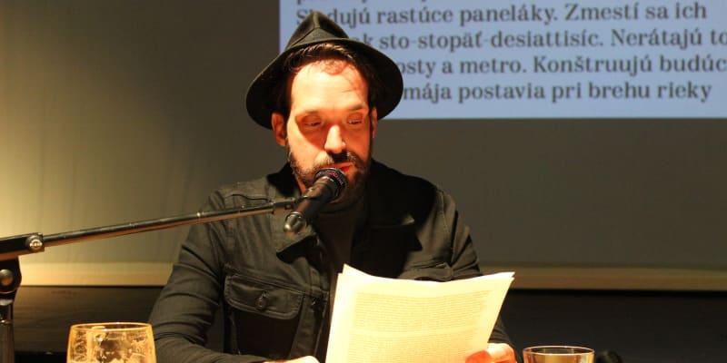 Maďarský spisovatel Ferenc Czinki