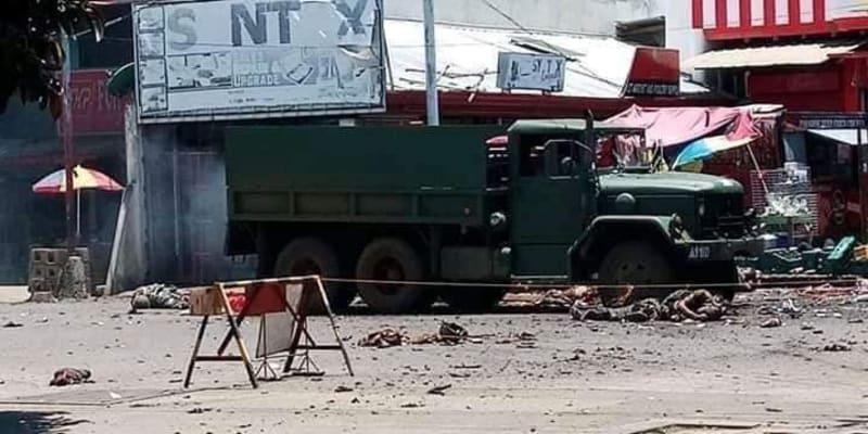 K bombovému útoku došlo na jihofilipínském ostrově Jolo.